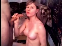 Cute Girl Opens Up Her Throat And Shoves The Whole Thing Inside Her Mouth