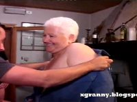 Fat Old Ass Anal Silver Granny