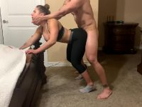 Homemade Porn – Amazing Big Ass Yoga Teacher Fucked In Standing Up Doggystyle