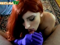 Jessica Rabbit Cosplayer Getting Cumshot In Mouth