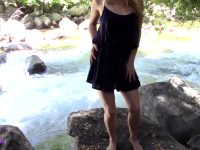 Stripping Out O My Sundress By The River – Such A Sexy Thrill