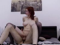 Stunning Hot Big Natural Tits Redhead Teen Tricked Into A Casting HD