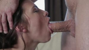 Adriana Nods W/ Approval To Continue Fucking Her Throat