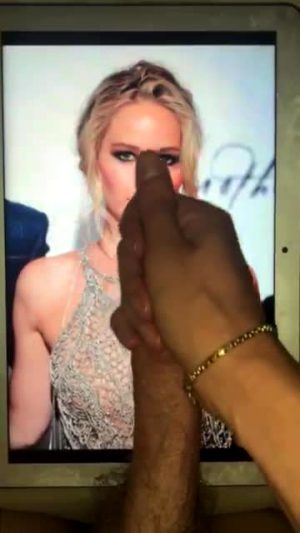 Amazing Cum Tribute For Jennifer Lawrence!! My First Time Feeding Ms Lawrence 2 A Bud – If U Like 2 Show Off And Want 2 B Fed Pics And Porn – Add Hertsgirls On K1k – Second Screen Required