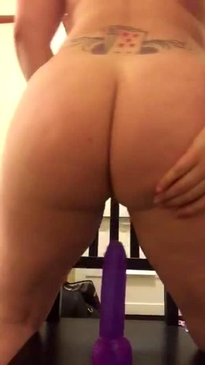 Another Suction Dildo Submission On My Kik By A Redditor Who Insists On Remaining Anonymous, But Is Turned On By Seeing Videos Posted. I'd Love To Share The Source, But Have Promised Not To.