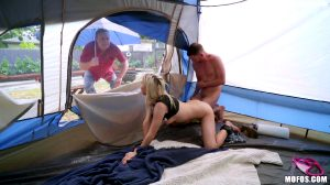 Backyard Camping For Hottie On House Arrest – Kenzie Reeves
