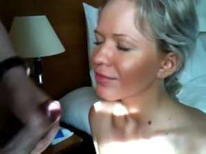 Beautiful Girl Takes A Big Load, Gives His Dick Plenty Of Love After