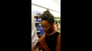 Blowjob Inside A Grocery Store