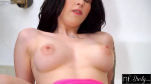 Busty Babe Sucked A Hard Dick In Morning And Got Cum On Tits