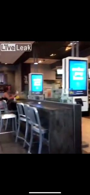Chick Fight At McDonald's