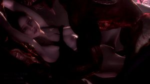 Claire Redfield Gets Lickered