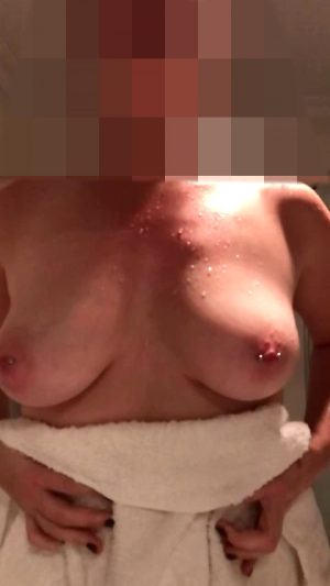 Drying Off My Big Tits, Someone Needs To Help Me Get Dirty Again 21