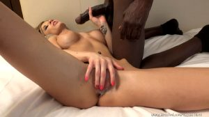 Excellent View Of Chloe Chaos' Big Clit