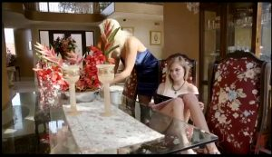 FamiliesTied – Spoiled Mommy & Teen Anally Degraded And Double Penetrated