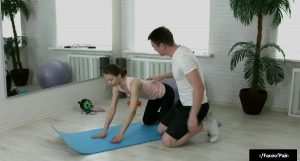 Forced By Her Yoga Trainer