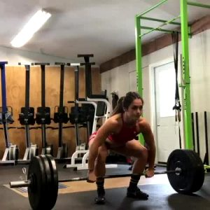 French Weightlifter And Fitness Model Celia Gabbiani