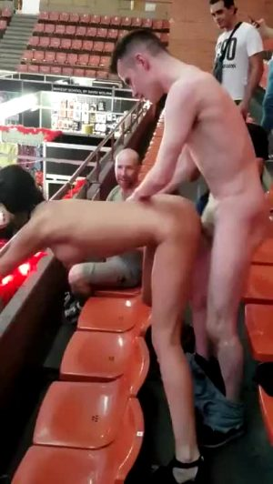 Fucking In Front Of Crowd!!!