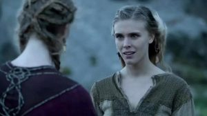 Gaia Weiss In Vikings Compilation