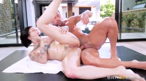 Harlow Harrison Gets Oiled Up And Fucked