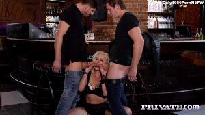 Horny Milf Rides A Threesome With Anal And DP – Brittany Bardott