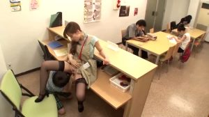 Hot Library Assistant Gets Fucked By Student
