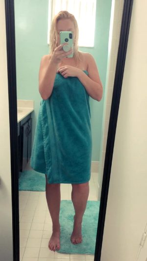 Just Me….naked ?