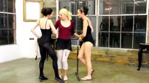 Lesbian Ballerinas Tie Up And Fuck Reluctant Straight Blonde Girl
