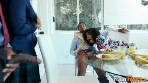 Lets Keep It In The Family – Misty Stone – Jenna Foxx