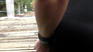 My Pussy Was Literally Dripping When He Chained Me To A Rail Near The Road – Then I Got Fingered, Fucked And Cummed On