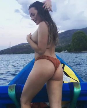 On A Boat