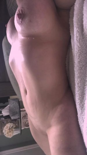 Out O The Shower And Out Of My Skin Needing To Be Touched
