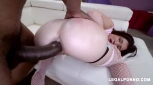 Perfect Interracial Anal With Slut Babe