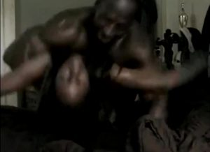 Ripped Black Guy With Huge Dick Fucks