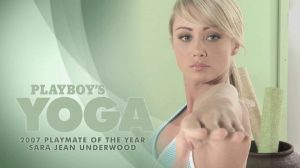 Sara Shows Us Some Basic Yoga Positions – Standing Shoulder And Plow Pose