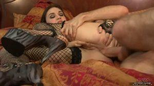 Sasha Grey Gets Rough Anal Fuck Session By Big White Cock