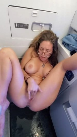Squirting In An Airplane
