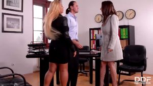 Stacked Stress Busters – Lucie Wilde, Kyra Hot