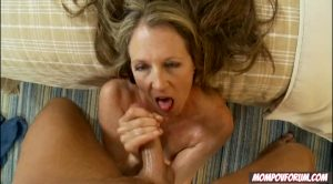 The MILF Knows How To Finish!