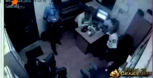 Thug Takes Advantage Of Security By Shooting Them