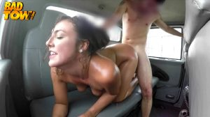 Tomi Taylor In A Car