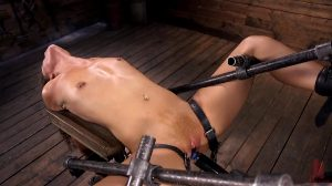 Victoria Voxxx Is Betrayed By Own Body Keeping The Vibrator In