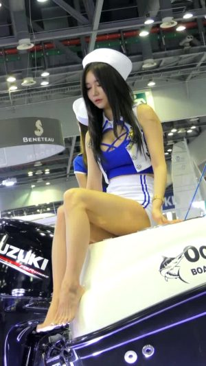 Who Is This Car Show Girl?