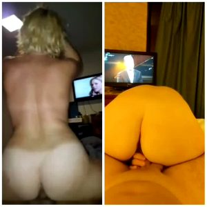 Wife Riding Blonde Or Brunette?