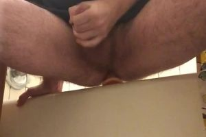 1st Post. Just A Gif Of Me Riding A Dildo And Blowing My Load