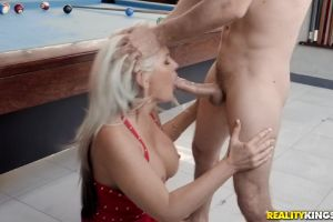 Alena Taking A Load To The Face – Milf Hunter