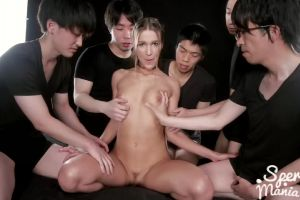 Alexis Crystal's Cum Covered Pussy Fucked