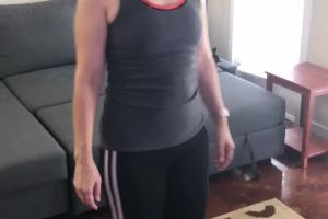Average Milf Light Workout On/off