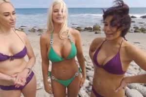 "Brittany Andrews, Claudia Valentine, Ryder Skye ""Summer Vacation 2"""