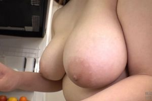 Busty Nude Maid Chitose