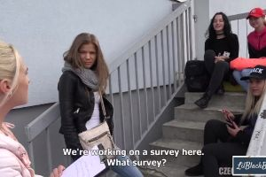 Couple Doing A Survey